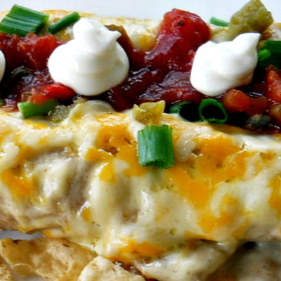 Creamy Spicy Beef Enchiladas Recipe