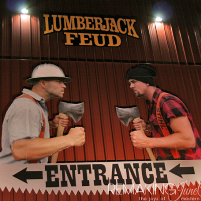 Lumberjack Feud Show – A Dinner and a Show in One!