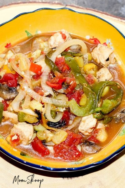 How to Make Chicken Ratatouille