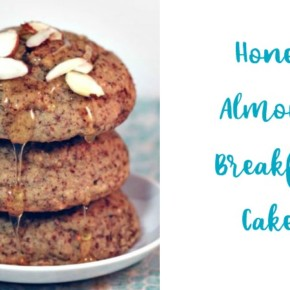 Paleo Honey Almond Breakfast Cakes