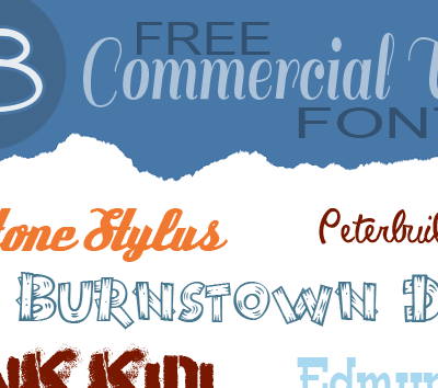 18 Free Commercial Use Creative Fonts