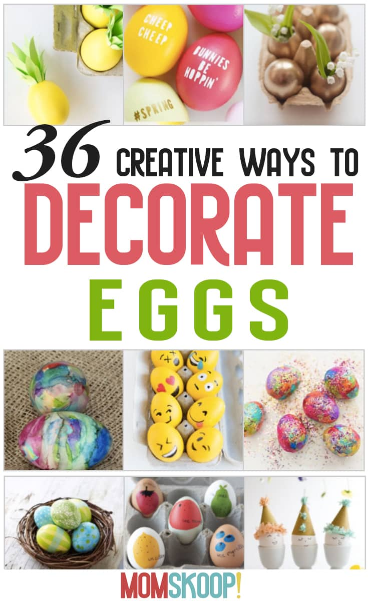 36 Creative Ways To Decorate Easter Eggs
