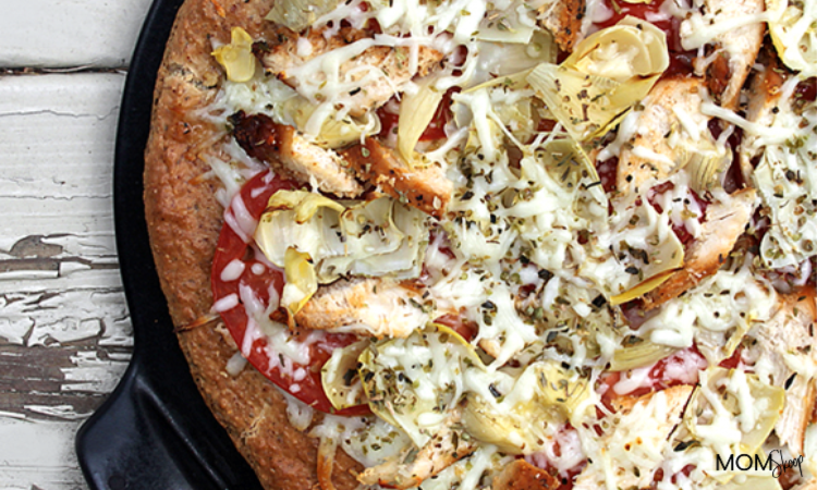 Chicken and Artichoke Pizza