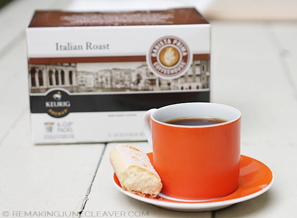 green mountain coffee barista prima italian roast kcups