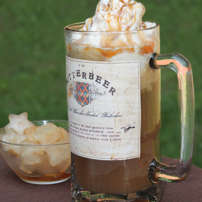 Copycat Butterbeer Float
