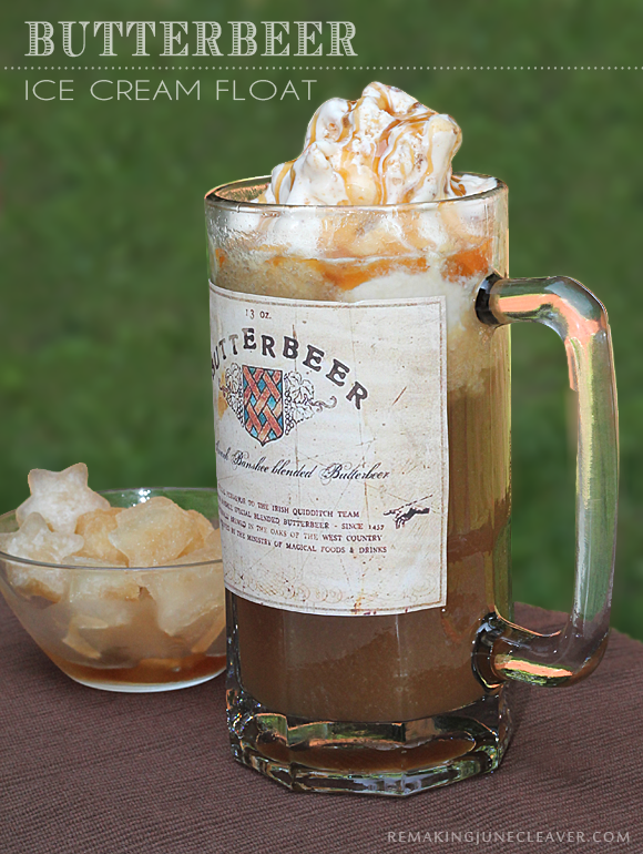 A&W Butterbeer Float Edys Grand Icecream