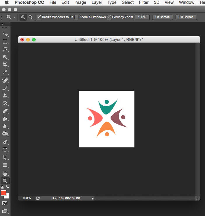 how to make a watermark logo in photoshop cc