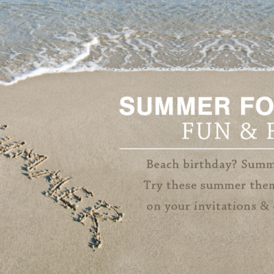Free Summer Fonts and Printables