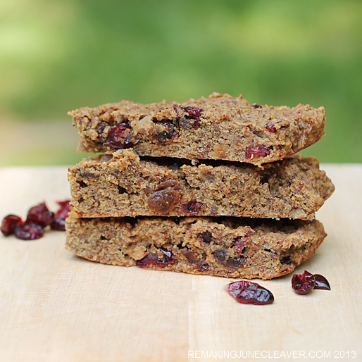 paleo cranberry raisin bars fg 2