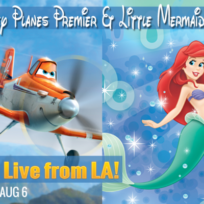 I'm Off to Los Angeles! #DisneyPlanesPremier #LittleMermaidEvent