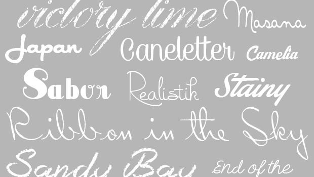 20 free cursive fonts