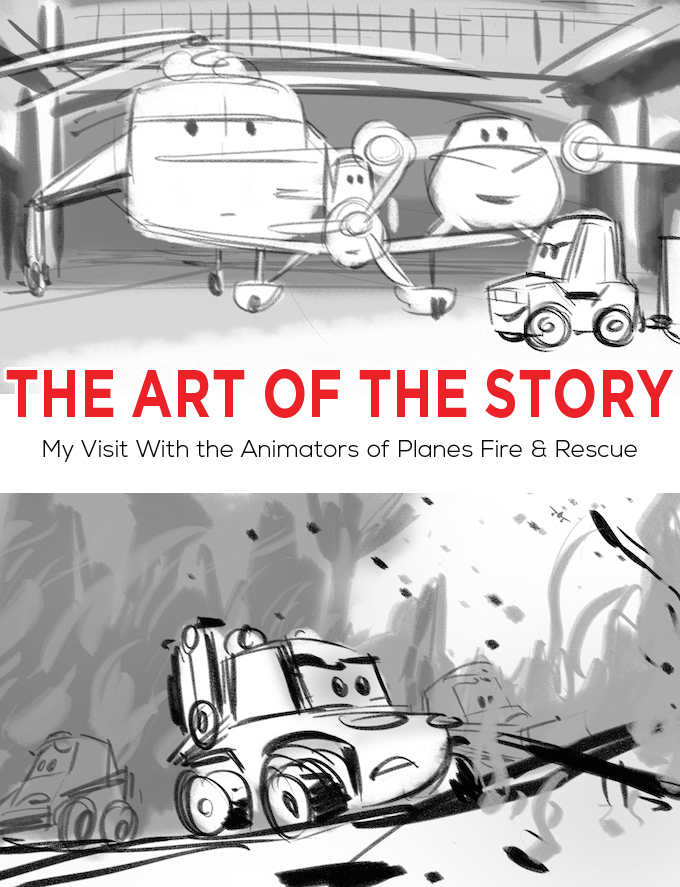 ART OF THE STORY PLANES FIRE AND RESCUE