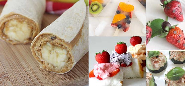 20 Easy Summer Snacks Recipes Kids