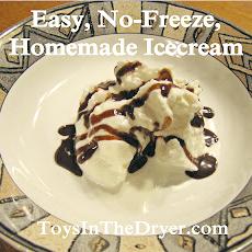 Easy No Freeze Ice Cream
