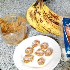 banana almond coconut snack