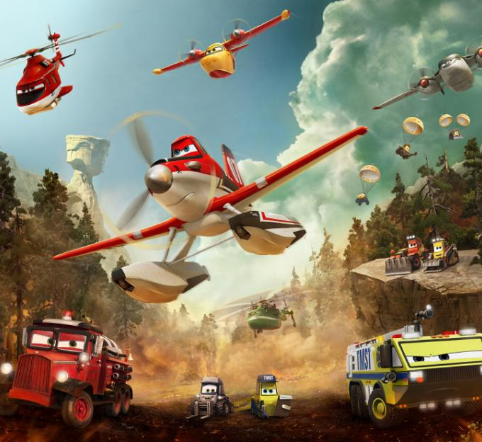 planes fire and rescue characters