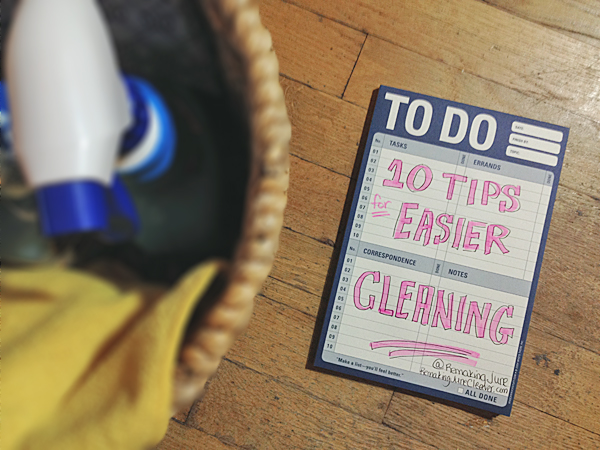 10 tips for easier cleaning #tryzep