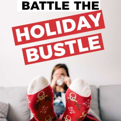 4 ways to battle the holiday bustle