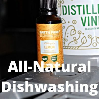 DIY Natural Dishwasher Rinse Aid