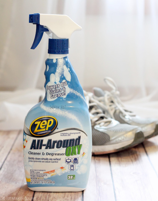 zep all around oxy cleaner degreaser sneaker cleaner #zepsocialstars