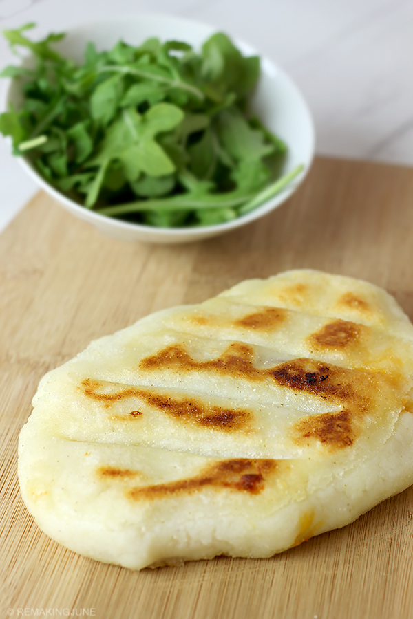 bacon and cheese stuffed arepas recipe