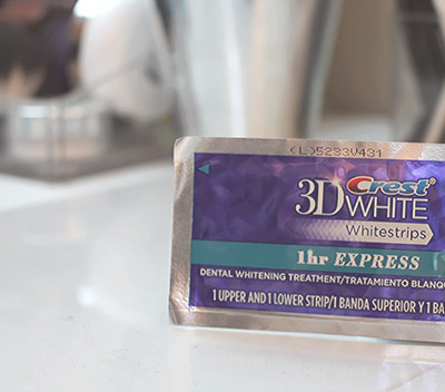 Free Your Smile with Crest 3D Whitestrips 1-Hour Express