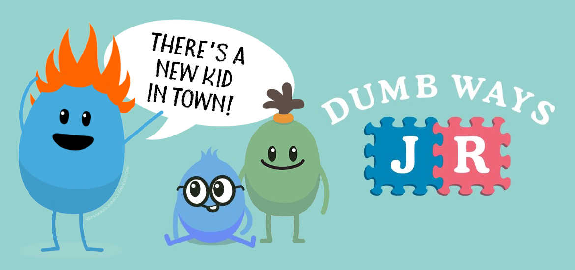 DUMB WAYS JR AVAILABLE NOW ON IOS AND ANDROID