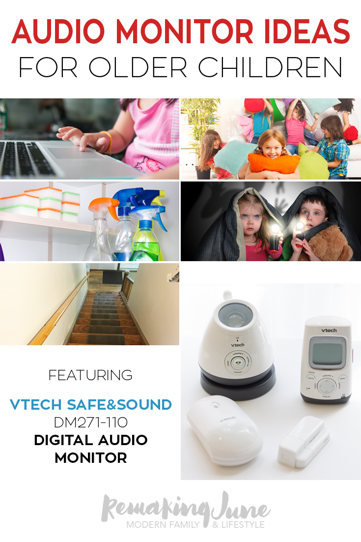 Vtech Digital Audio Monitor Tips For Use With Older Kids