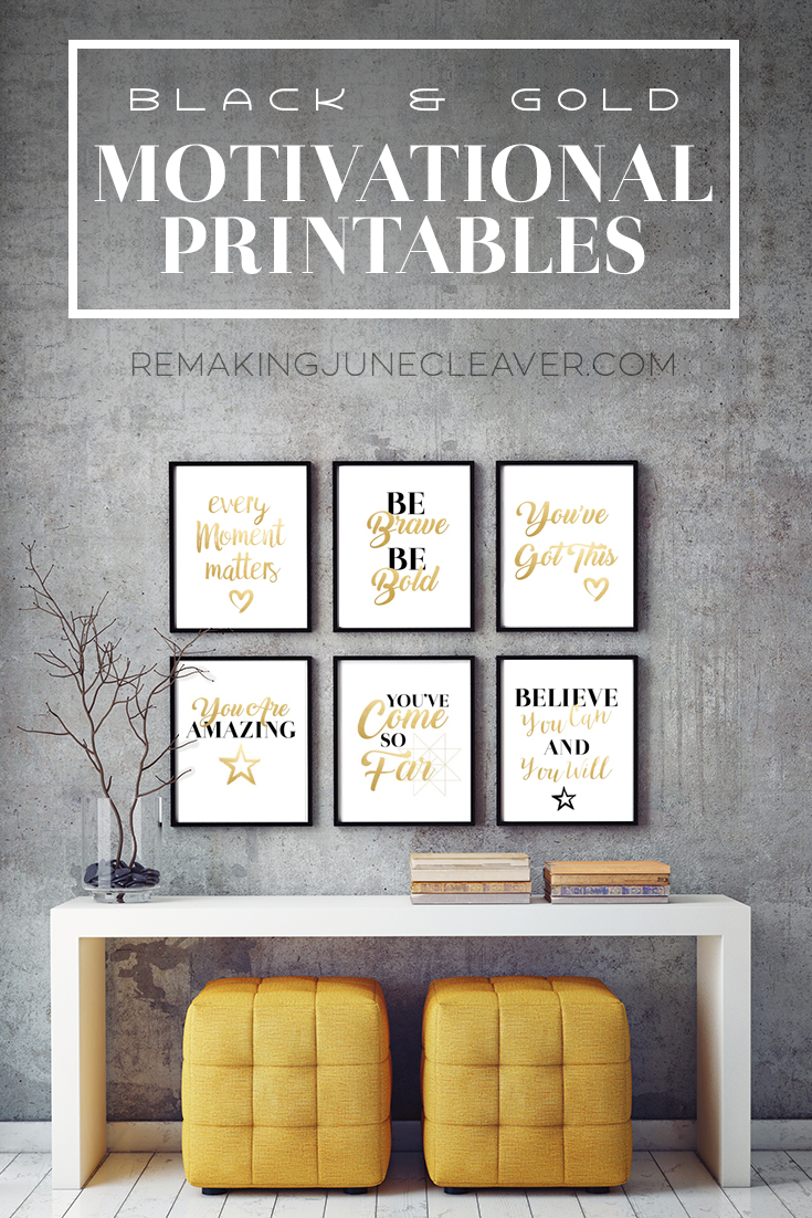 FREE MOTIVATIONAL PRINTABLES