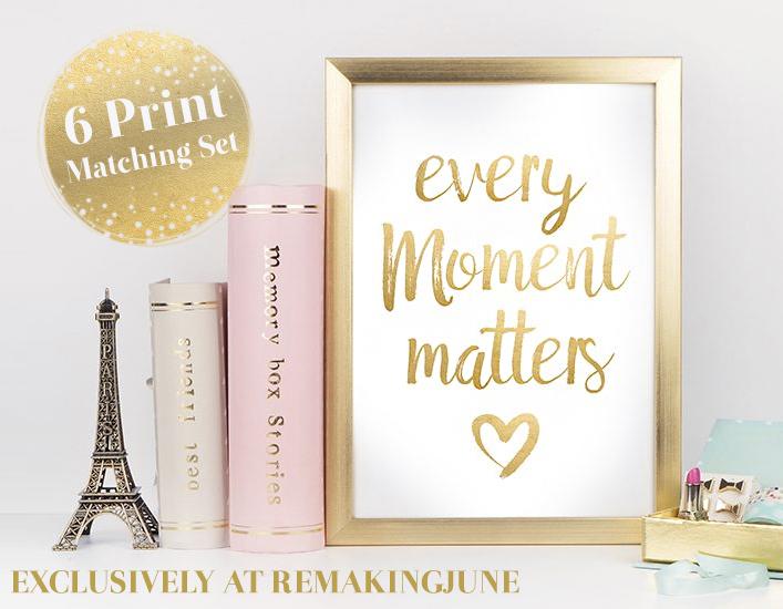 Free Motivational Printables Set