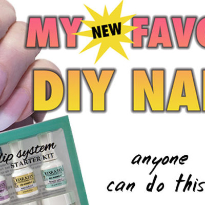 EASIEST DIY NAIL SYSTEM for 2017 [VIDEO HOW-TO]