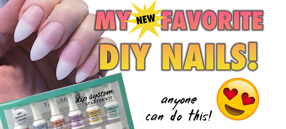 FASTEST EASIEST DIY NAILS
