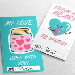 PRINTABLE LUNCHBOX LOVE NOTES