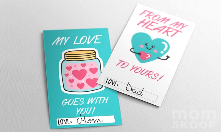 PRINTABLE LUNCHBOX LOVE NOTES valentine