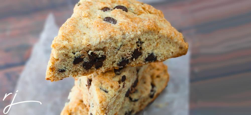 Chocolate Chip Cookie Scones Recipe