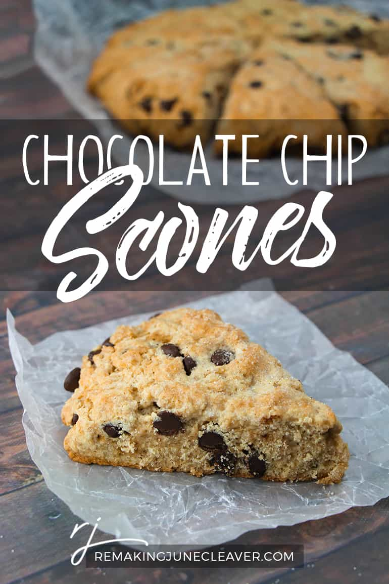 Chocolate Chip Scones Pin