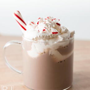 easy peppermint whipped cream