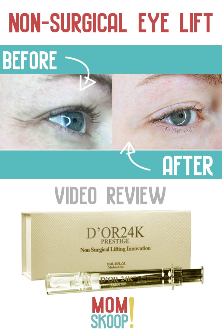3 minute non surgical eye lift at home