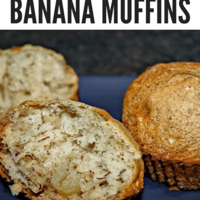 Super Easy Apple Banana Muffins