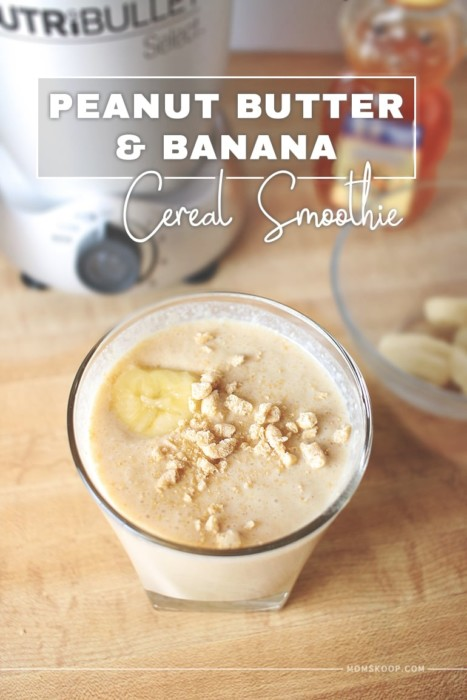 peanut butter banana cereal smoothie2