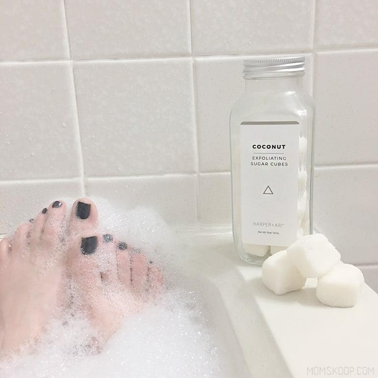 harper ari bath scrubs