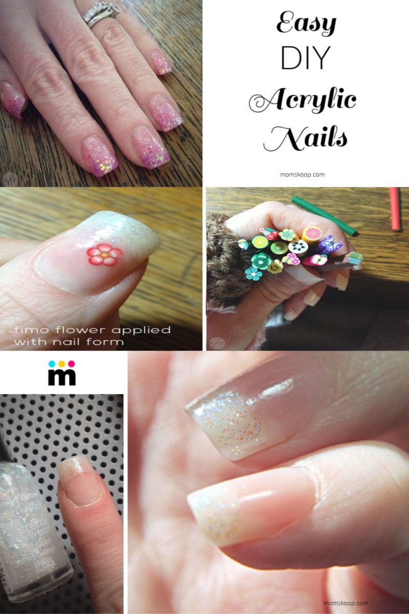 DIY Acrylic Nails