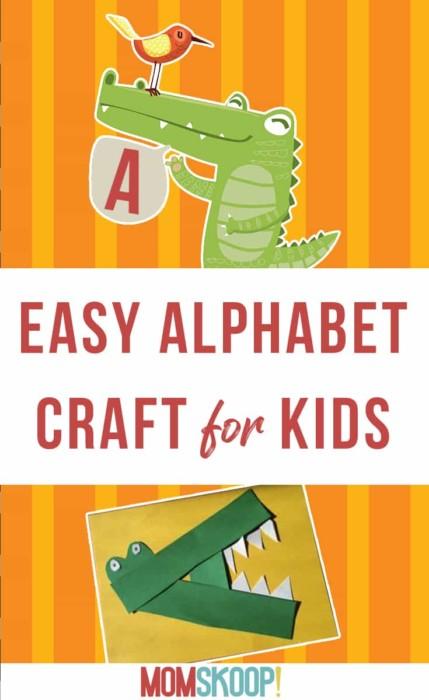 Easy Alphabet Craft For Kids