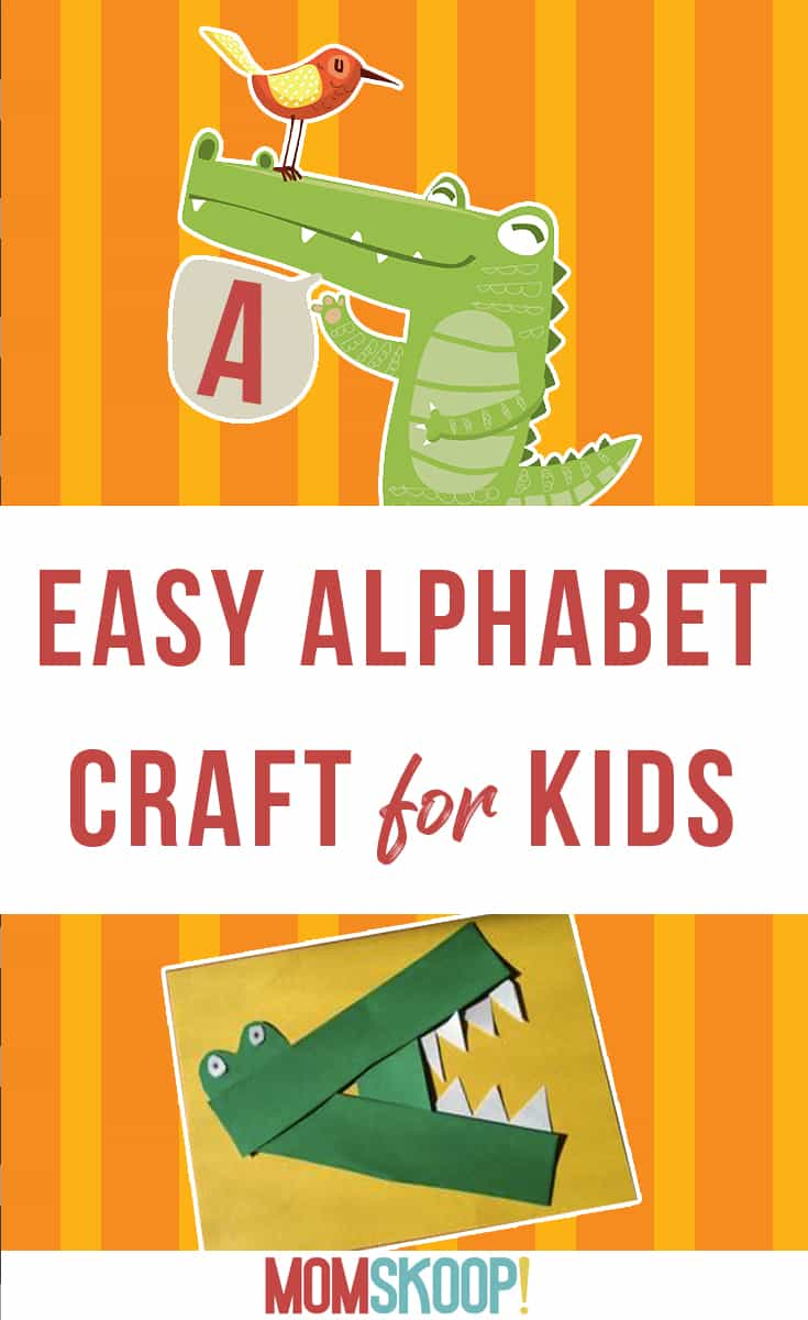Easy Alphabet Craft For Kids