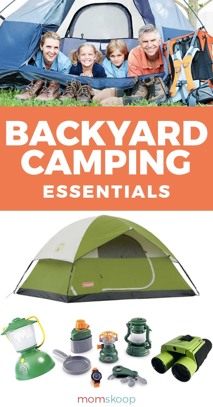 BACKYARD CAMPING ESSENTIALS FOR FAMILY FUN