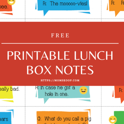 Laughter Is The Best Medicine + Free Printable Lunchbox Jokes