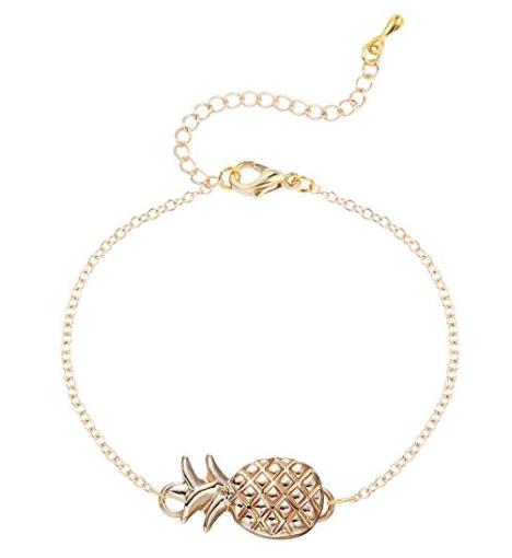 Adjustable Pineapple Bracelet