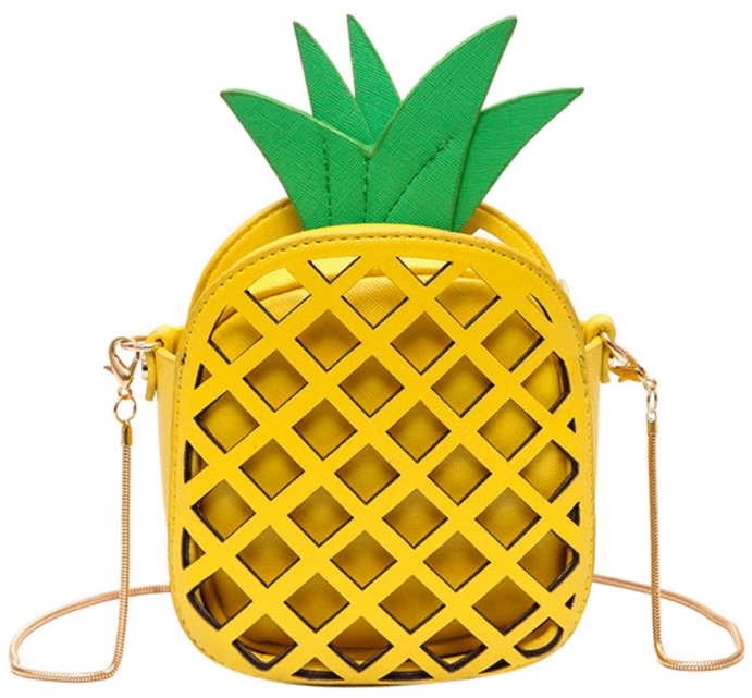 MILATA pineapple clutch