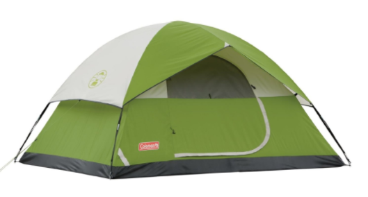 Sundome 4 Person Tent backyard camping