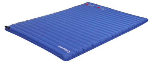 backyard camping airmattress